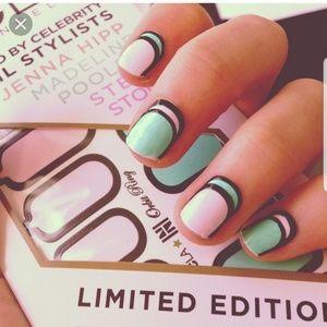 NEW NCLA nail sticker kit